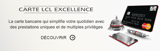 Carte LCL Excellence