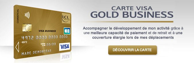 Carte Visa Gold Business